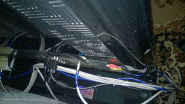Тонны кабеля в квартире